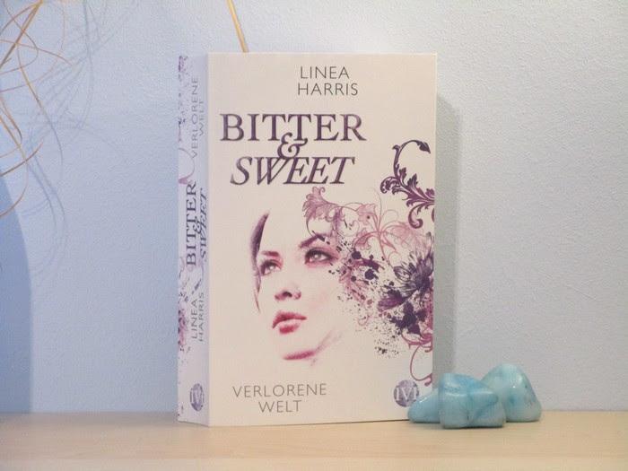 """Linea Harris und ihr Buch """"Bitter & Sweet - Verlorene Welt"""""""