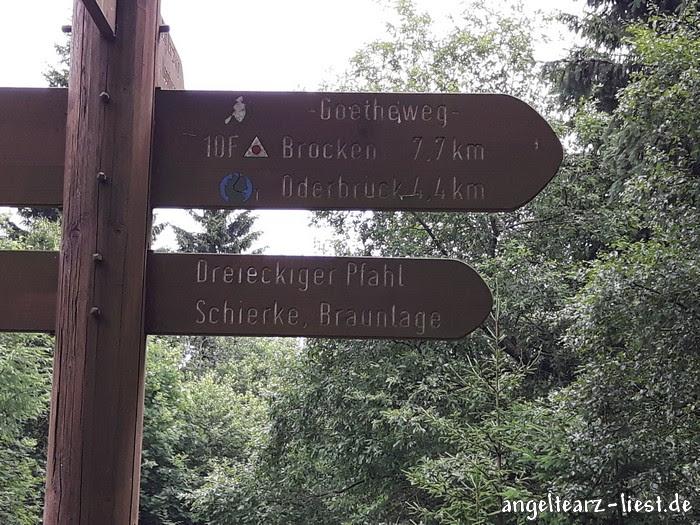 Unsere Wanderung von Torfhaus aus auf den Brocken