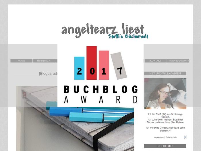 Mein Blog beim Buchblog-Award 2017