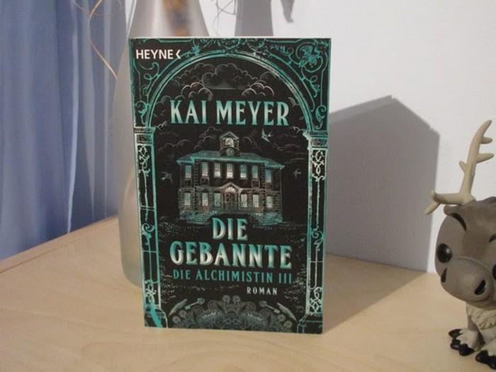 Die Gebannte - Die Alchimistin III von Kai Meyer