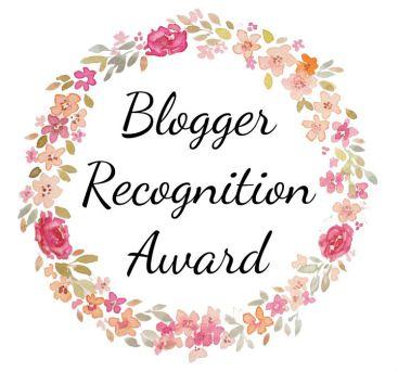 Aktion | Blogger´s Recognition Award