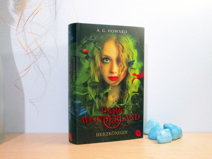 Rezension zu Dark Wonderland – Herzkönigin von A.G. Howard