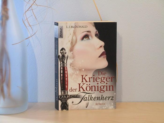 Die Krieger der Königin - Falkenherz von L. J. McDonald