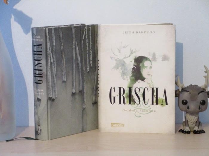 Grischa - Goldene Flammen von Leigh Bardugo