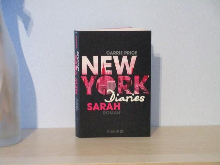 New York Diaries - Sarah von Carrie Price