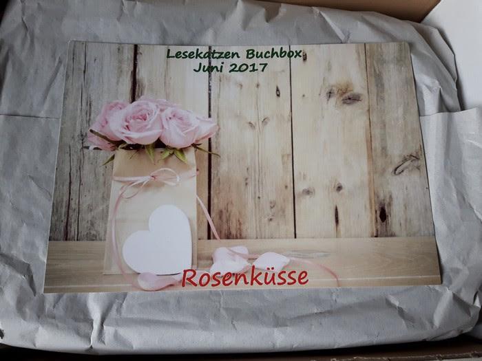 Lesekatzen-Buchbox - Rosenküsse