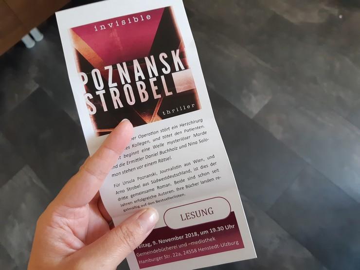 Einladung Lesung