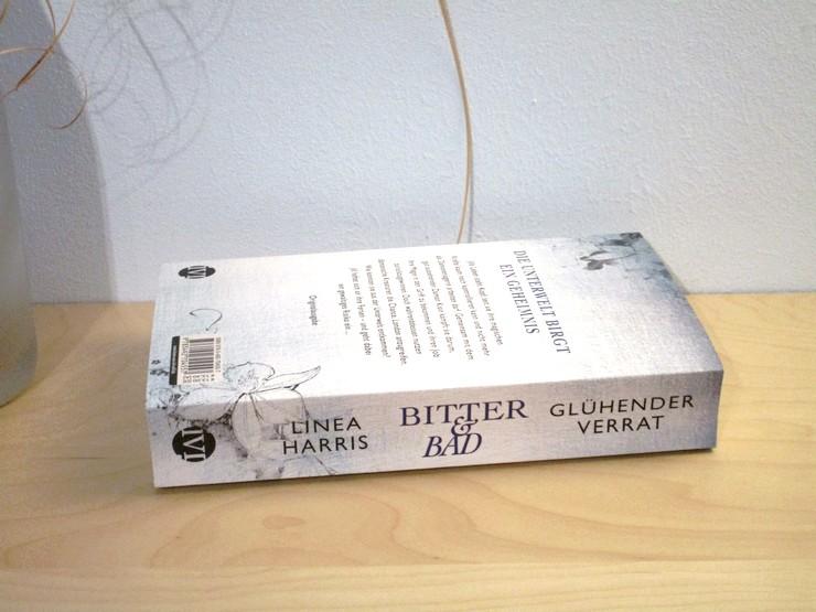 Rezension Bitter & Bad - Glühender Verrat von Linea Harris