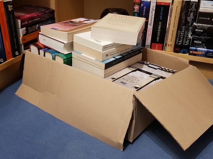Was tun mit gebrauchten Bücher?