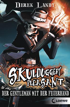 Rezension Skulduggery Pleasant - Der Gentleman mit der Feuerhand von Derek Landy