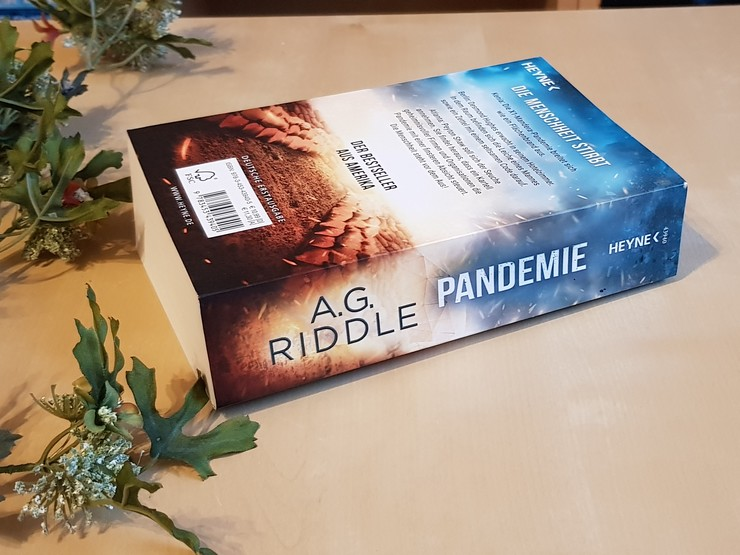 Rezension Pandemie von A.G. Riddle