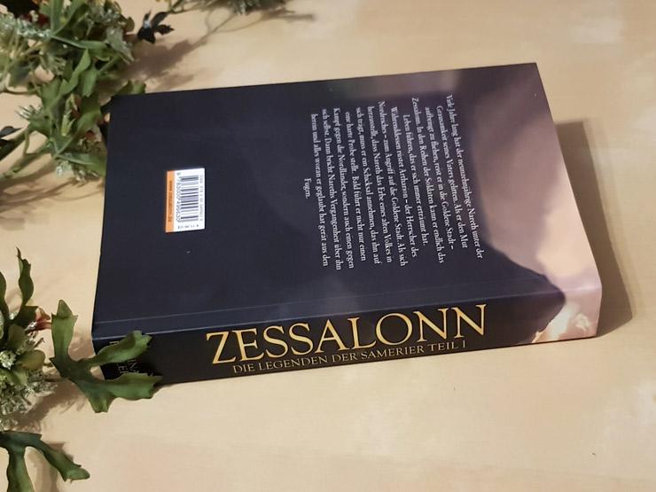 Rezension Zessalonn - Die Legenden der Samerier von Nina Döllerer