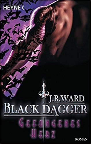 Rezension Black Dagger - Gefangenes Herz von J. R. Ward