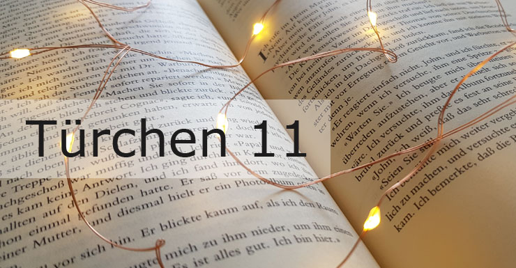 Adventskalender 2019 - Türchen 11