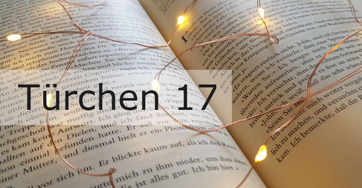 Adventskalender 2019 - Türchen 17