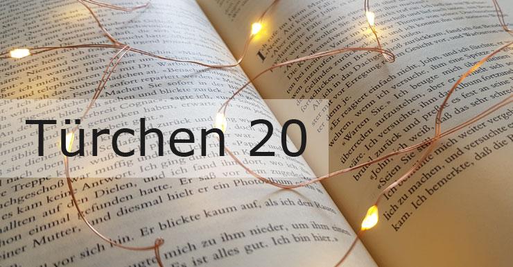 Adventskalender 2019 - Türchen 20