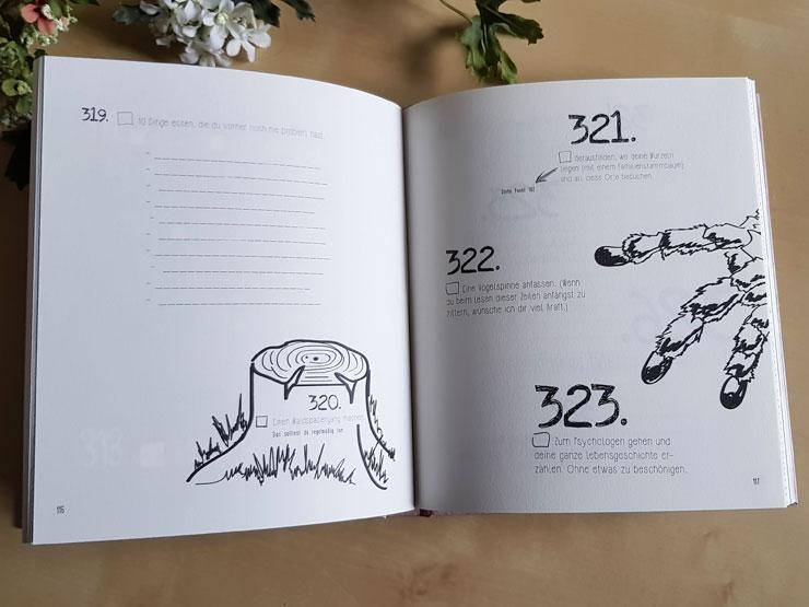 yoursurprise personalisiertes Bucketlist Buch