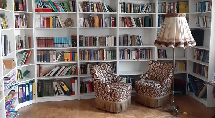 Bibliothek von Maria Zaffarana