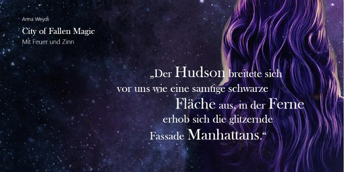 City of Fallen Magic - Mit Feuer und Zinn von Anna Weydt